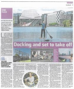 The Sunday Times 160911 - Docking and set to take off